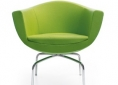 fotel do poczekalni zielony
