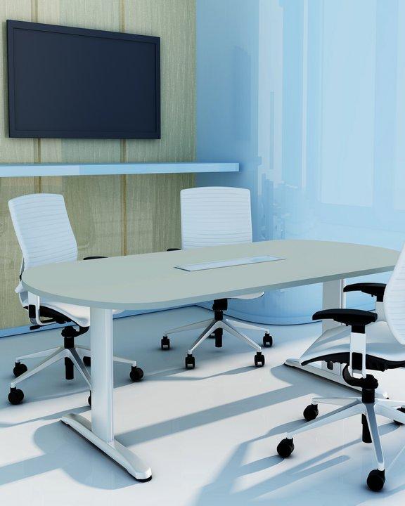 biurko z mikroportami funkcjonalne