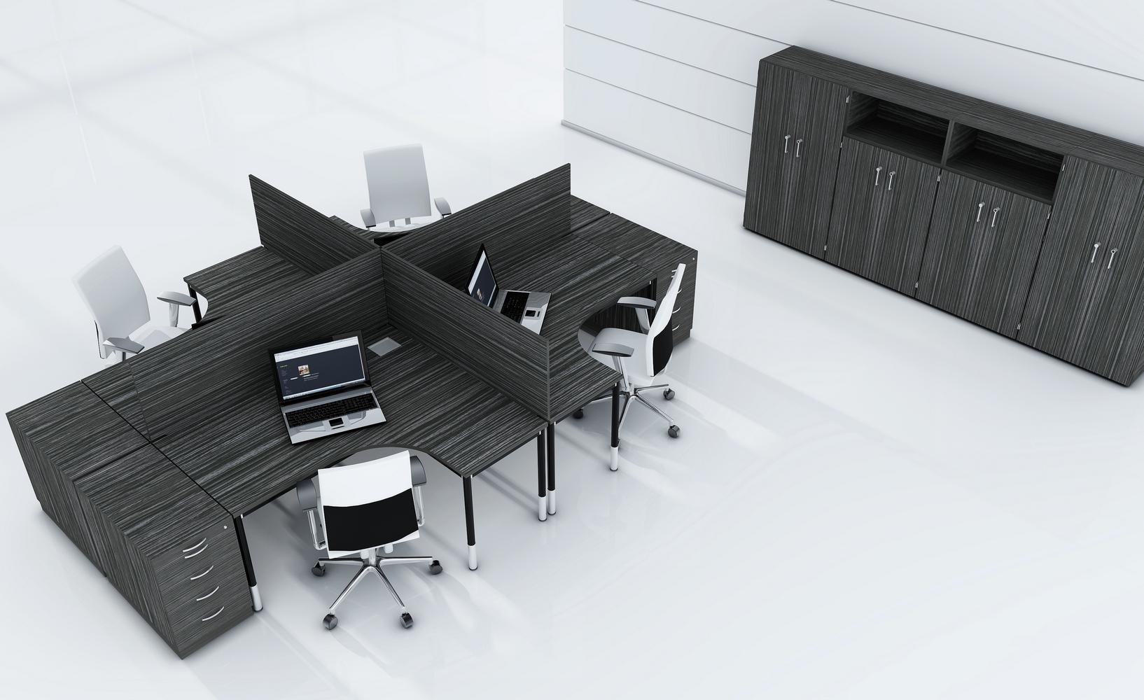 podwójne biurka pracownicze G4-02tuari