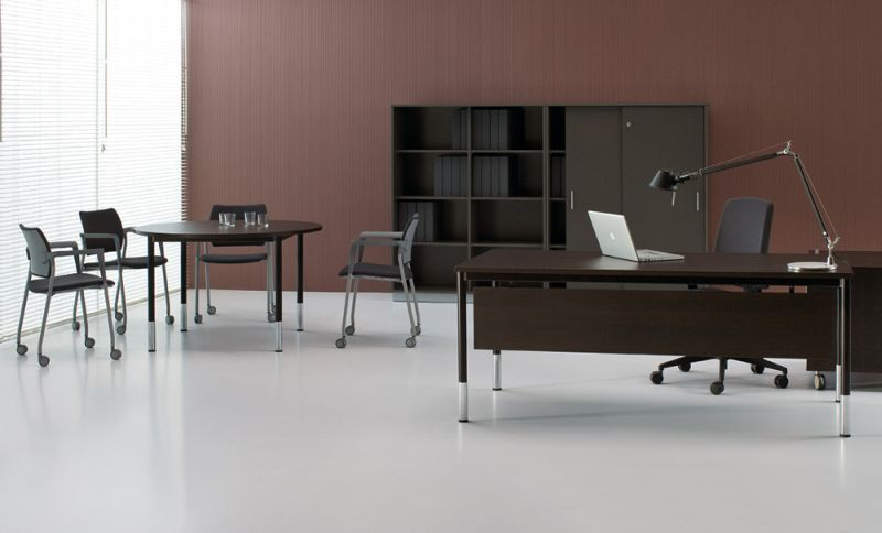 G4 biurko proste  kolor ciemny
