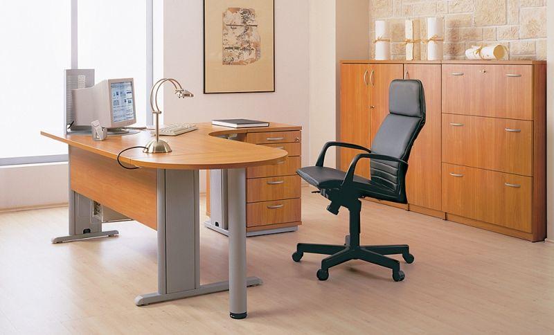 axus biurko w biurze