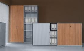 szafy, witryny i regały biurowe