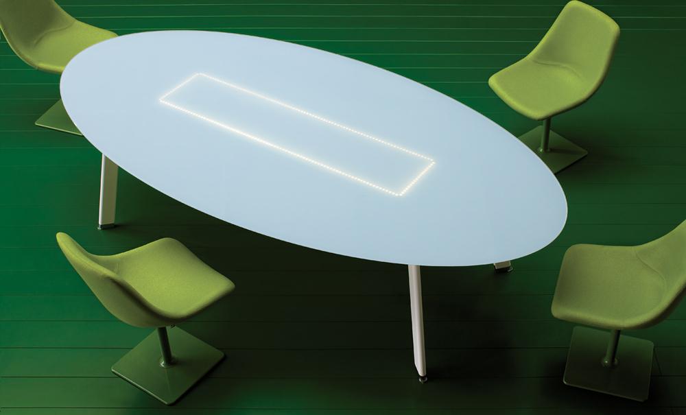 stoł konferencyjny składany szklany