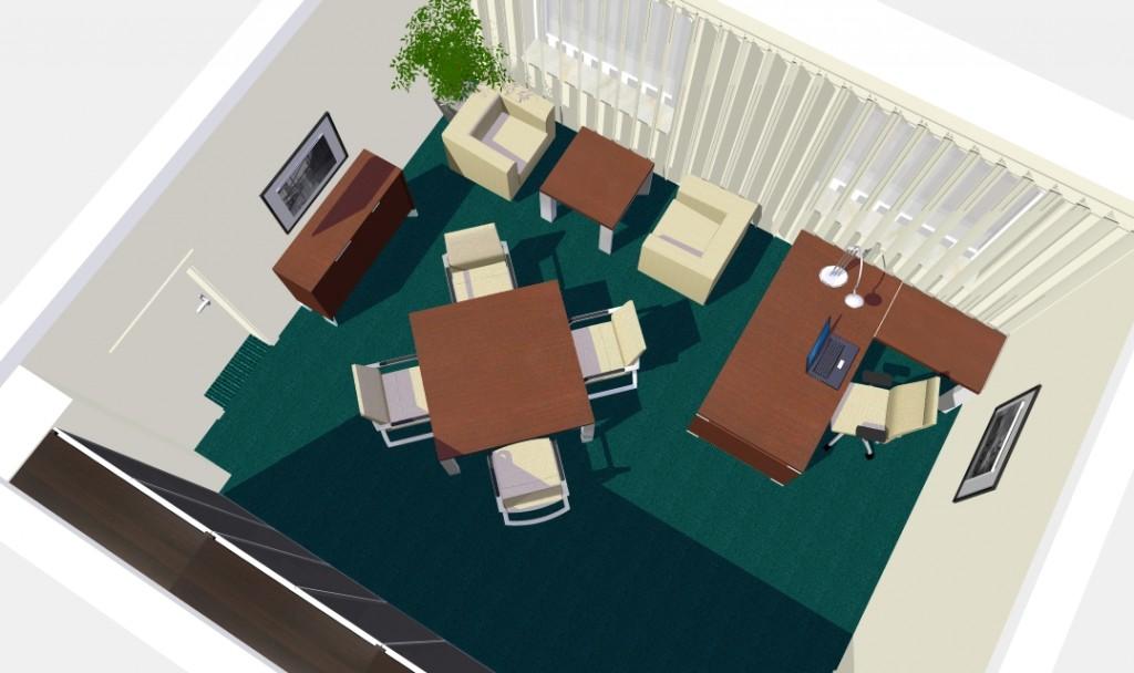 Projektowanie wnętrz biurowych - Kolekcja Projektowanie przestrzeni biurowych