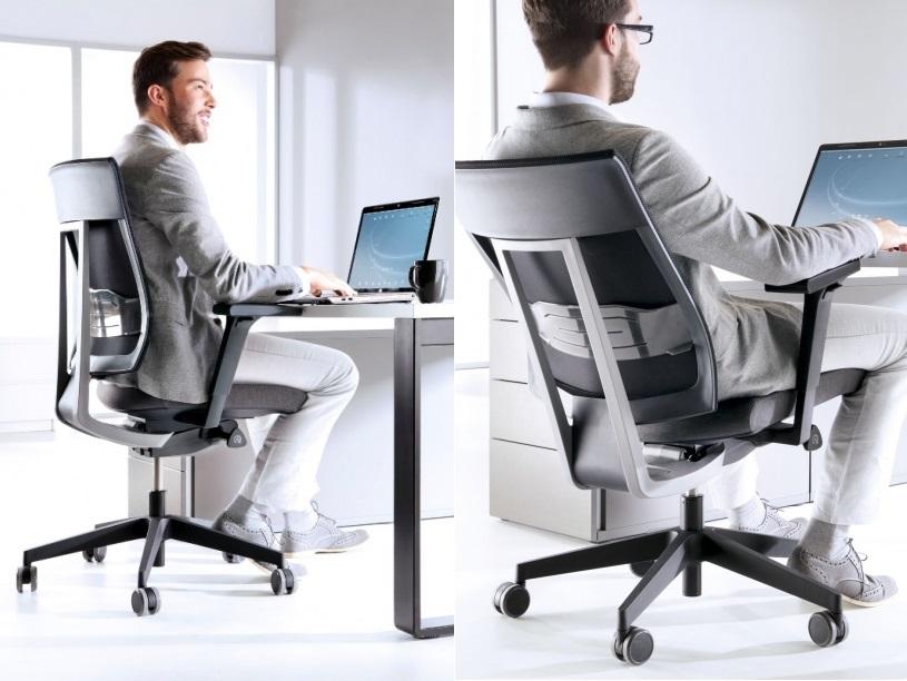 - Kolekcja Fotele biurowe dobre na kręgosłup