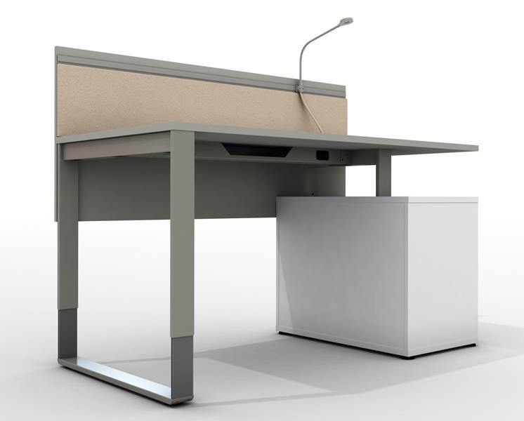 regulowana wysokosc biurka
