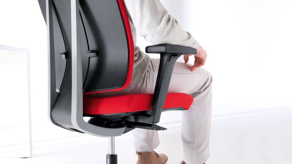 ergonomiczny obrotowy fotel do biura xenon profim