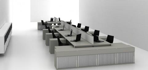 Meble biurowe modułowe