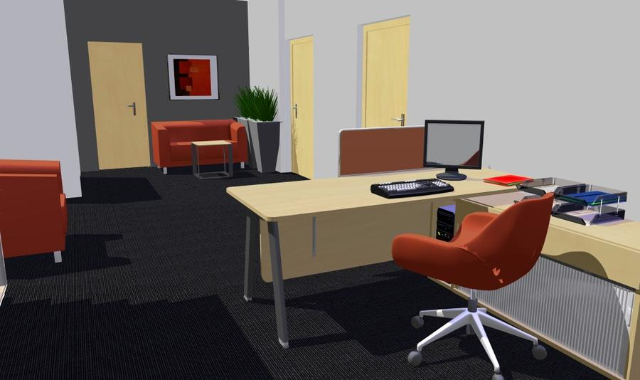 meble biurowe do sekretariatu SIMPLIC