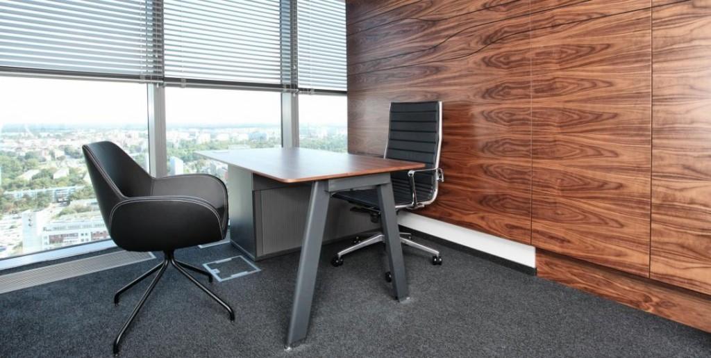 Fotele biurowe Santos Palisander