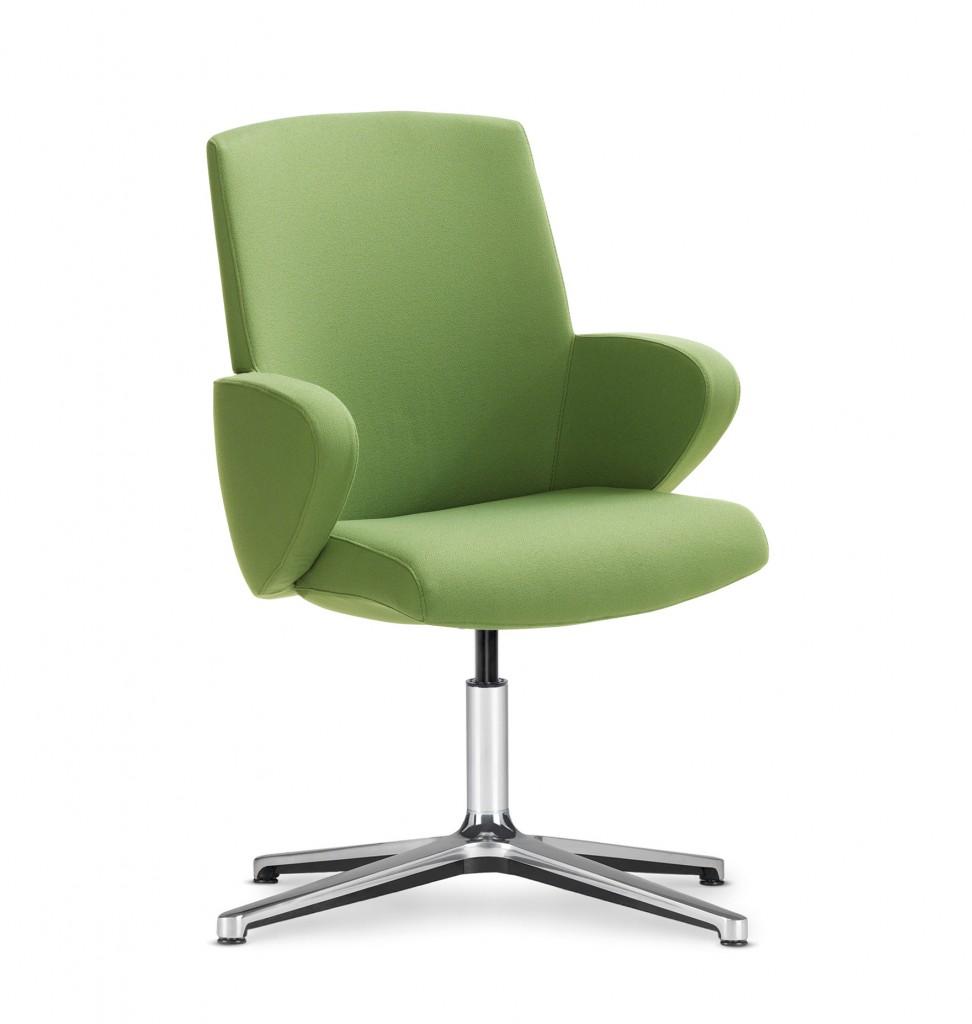 Obrotowy fotel konferencyjny FORMAT