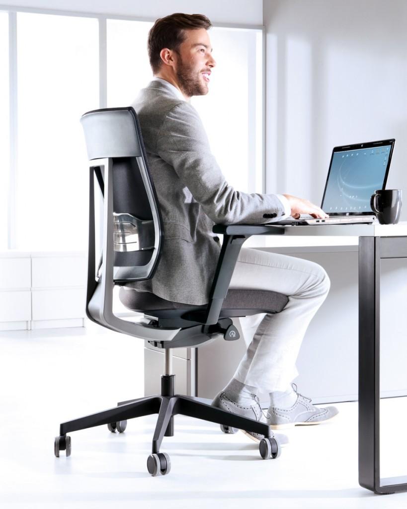 Krzesło obrotowe z kolekcji XENON NET
