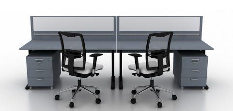 Małe biurko w aranżacji niewielkich powierzchni