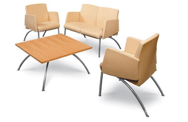krzesła i stolik do poczekalni
