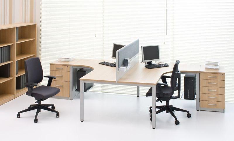podwójne biurko kątowe G4