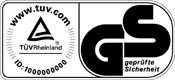 certyfikat TUV GS