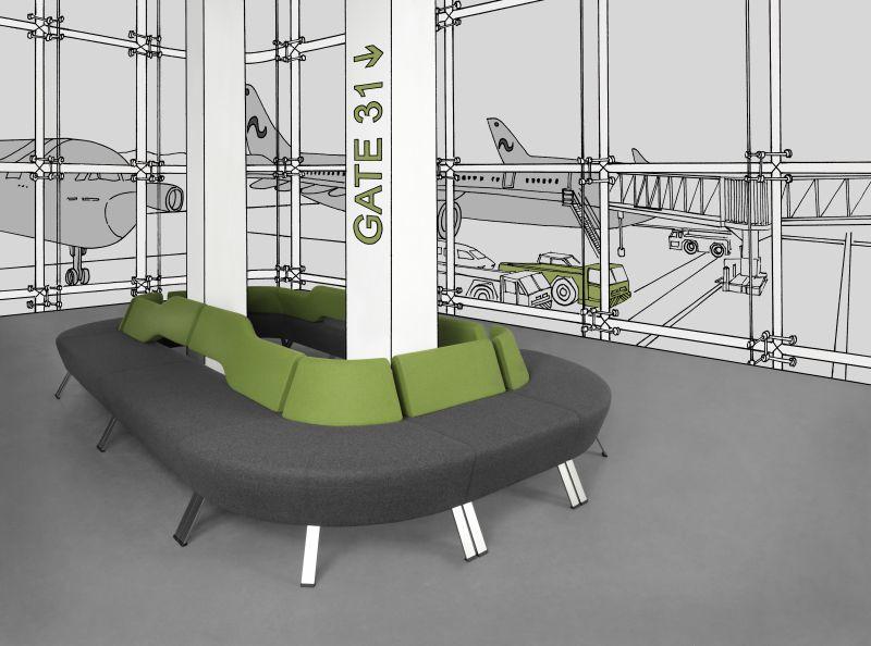 updown sofa modułowa aranżacja