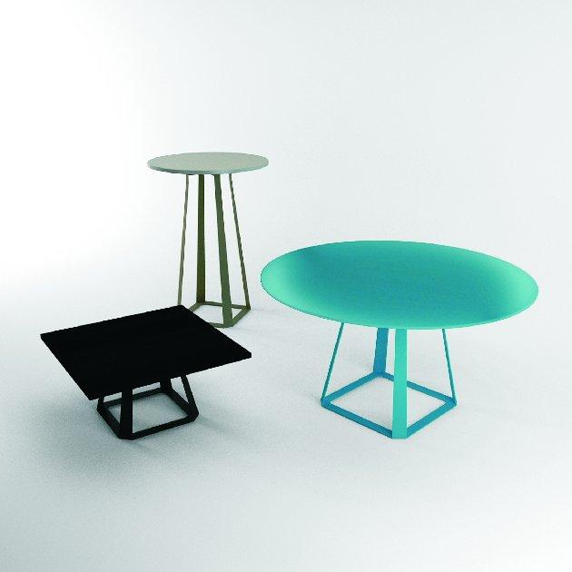 minimalistyczne stoliki do biura system h2