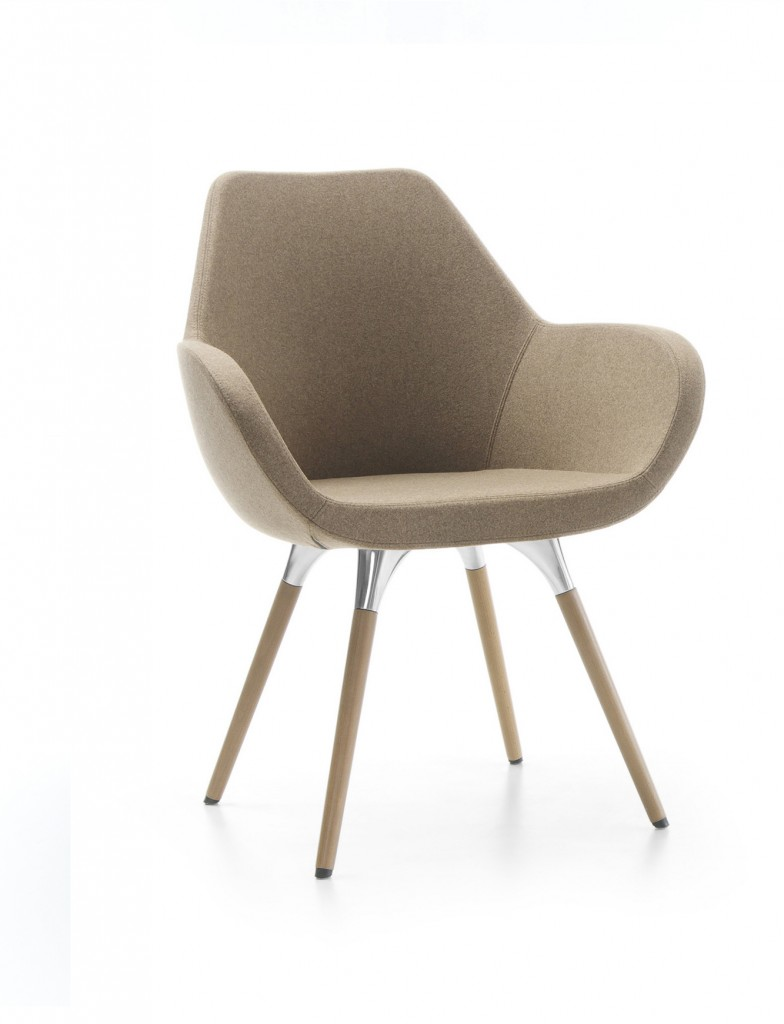 Krzesło tapicerowane FAN